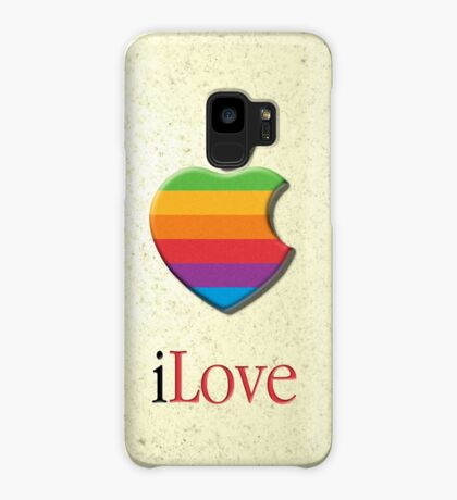 iLove 3D (for light shirts) Case/Skin for Samsung Galaxy