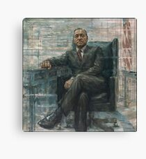 Frank Underwood House of Cards Painting Canvas Print