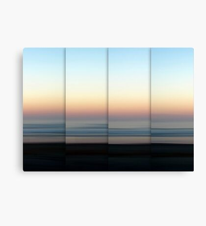 Mist Rolling In Canvas Print