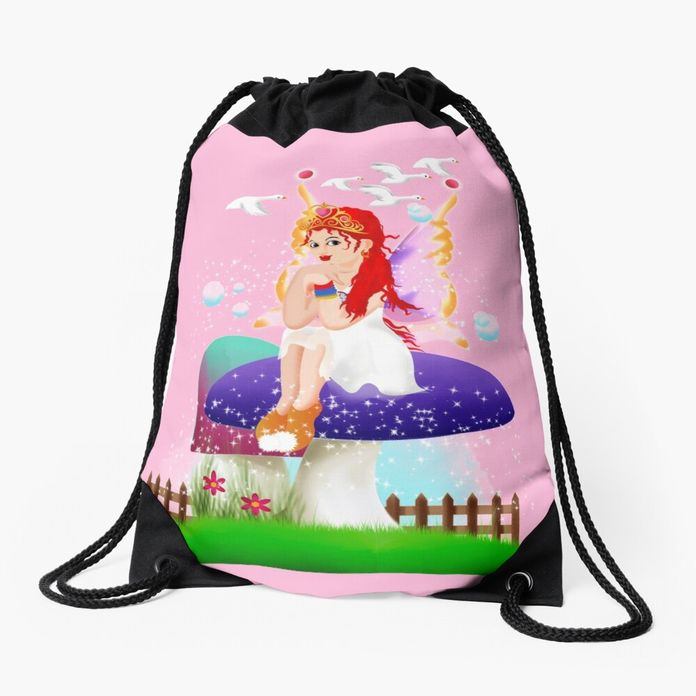 Chime The New Year's Fairy™ Drawstring Bag