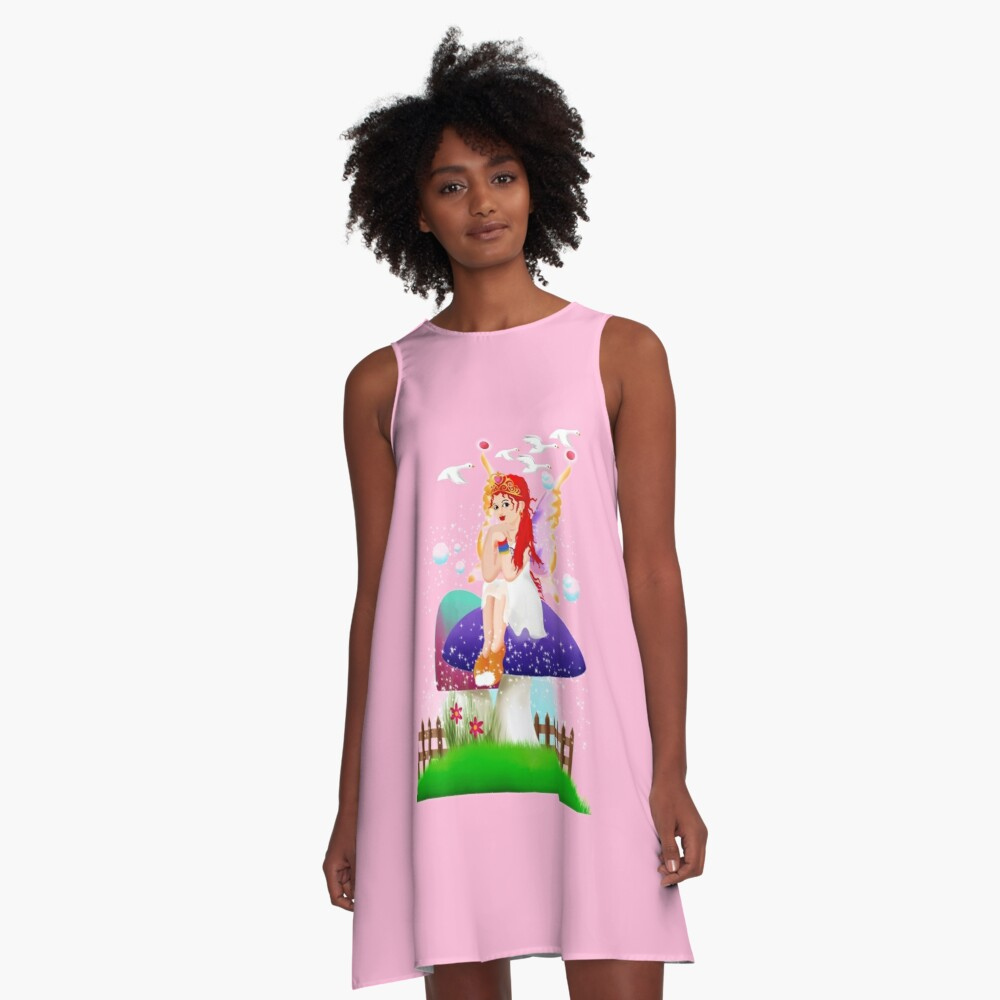 Chime The New Year's Fairy™ A-Line Dress