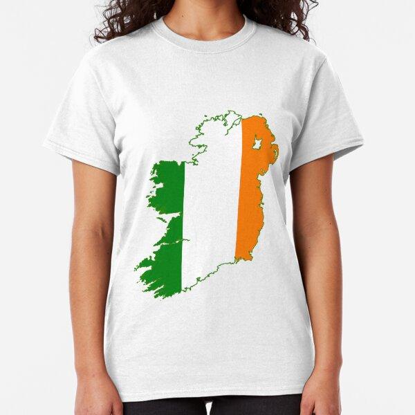 Four Leaf Clover Lucky vieilli bonne chance à la recherche irlandais Homme col V Sport Tee