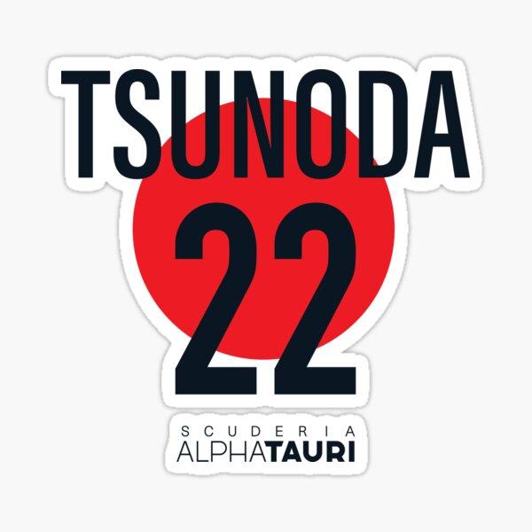 Yuki Tsunoda Alpha Tauri Sticker