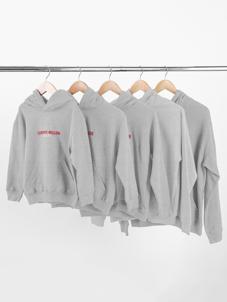 Alternate view of Carnegie Mellon University Kids Pullover Hoodie