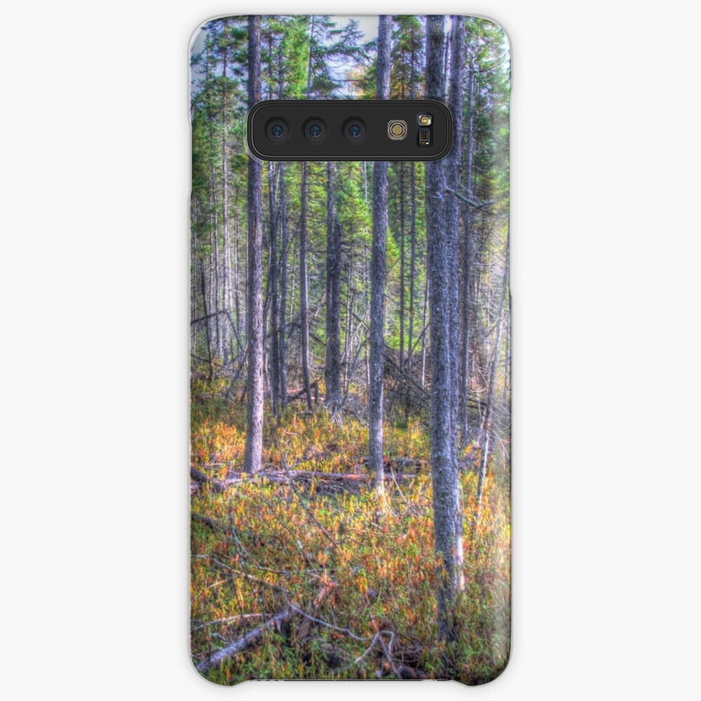 Pine trees in the marsh Case & Skin for Samsung Galaxy