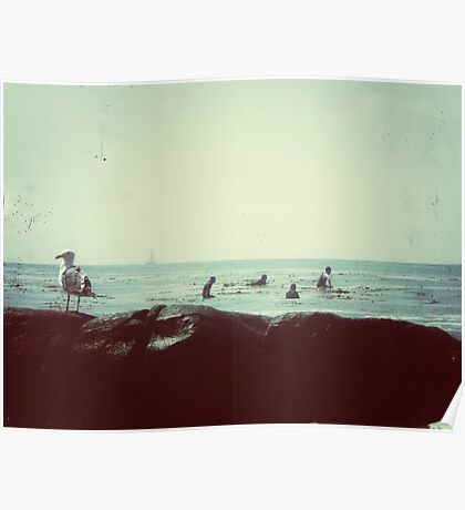 coastal vibes Poster