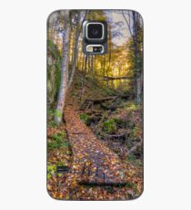 Walkway through the woods Case/Skin for Samsung Galaxy