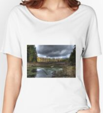 Stormy marsh Relaxed Fit T-Shirt