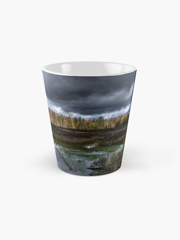Alternate view of Stormy marsh Mug