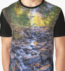 Rocky riverbed Graphic T-Shirt