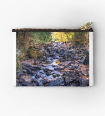 Rocky riverbed Zipper Pouch