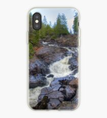 Raging water iPhone Case