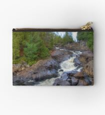 Raging water Zipper Pouch
