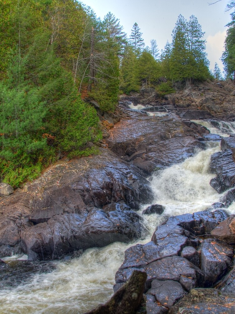 Raging water by daveriganelli