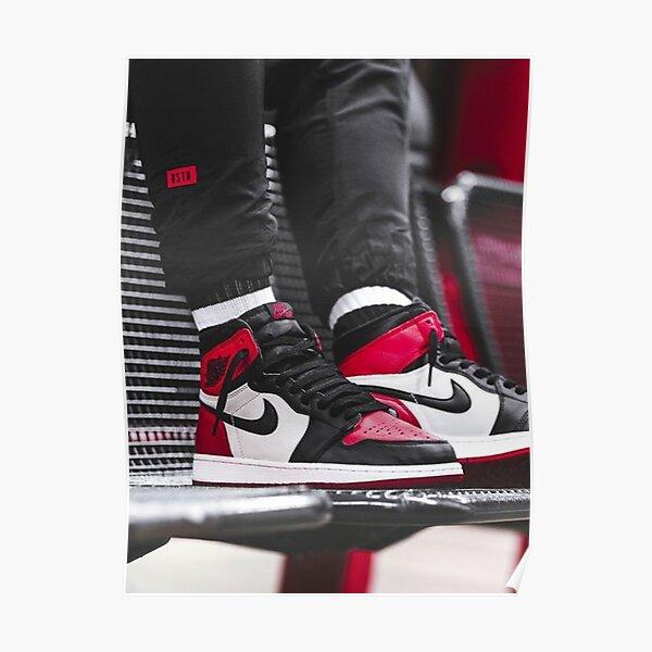 Zapatillas Jordan 1 Póster