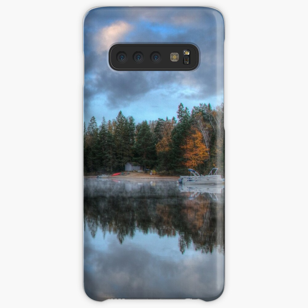 Reflected trees and sky Case & Skin for Samsung Galaxy