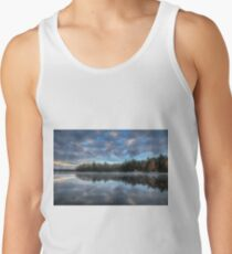 Reflected trees and sky Tank Top