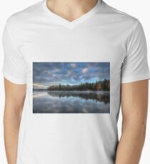 Reflected trees and sky V-Neck T-Shirt