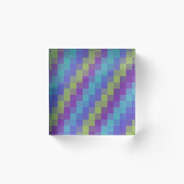 Magical squares Acrylic Block