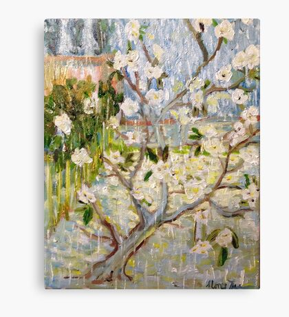 The Tree that Vincent Built by Alma Lee Canvas Print