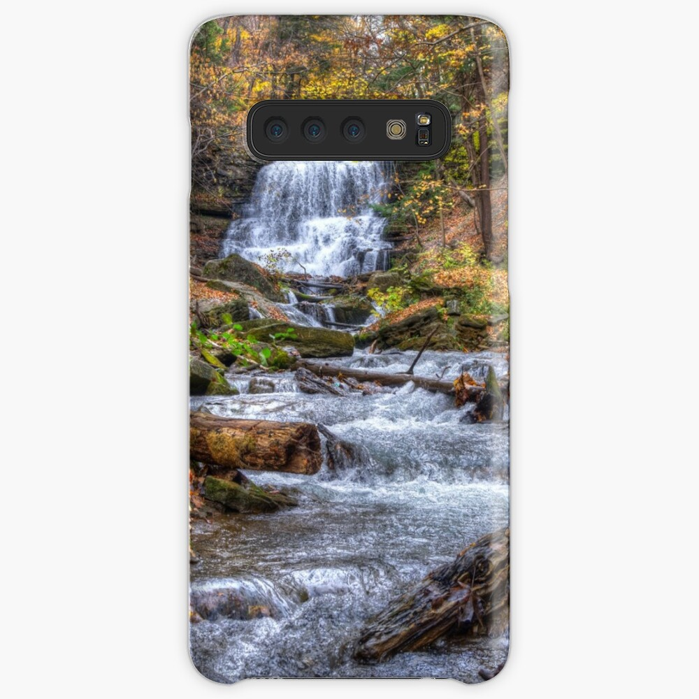 Forest waterfall Case & Skin for Samsung Galaxy