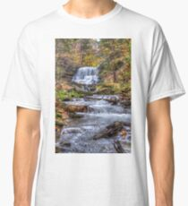 Forest waterfall Classic T-Shirt