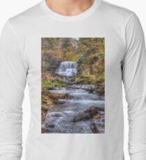 Forest waterfall Long Sleeve T-Shirt