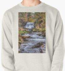 Forest waterfall Pullover Sweatshirt