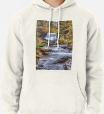 Forest waterfall Pullover Hoodie