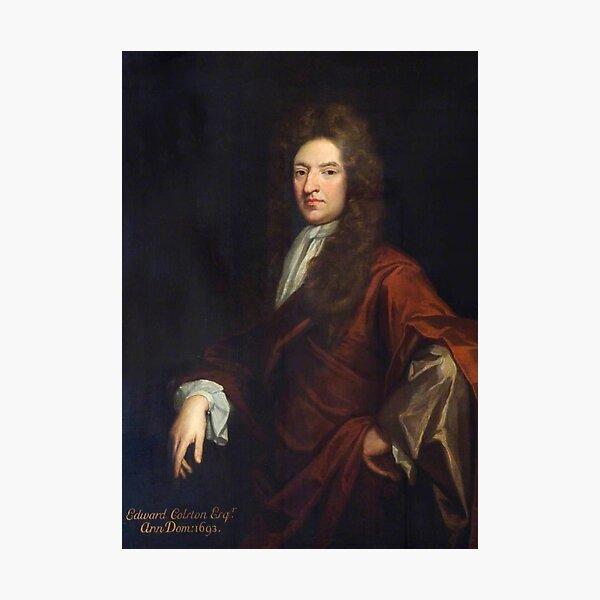 Edward Colston 1693 portrait Photographic Print