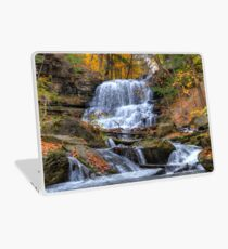 Forest waterfall Laptop Skin
