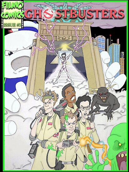 Ghostbusters by DamoGeekboy