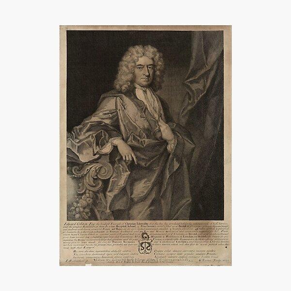 Edward Colston 1722 Photographic Print