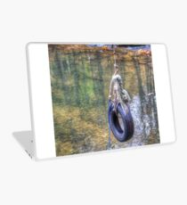Tire swing Laptop Skin