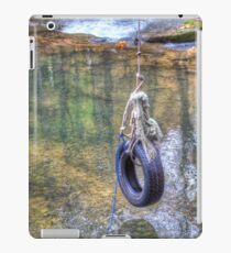 Tire swing iPad Case/Skin