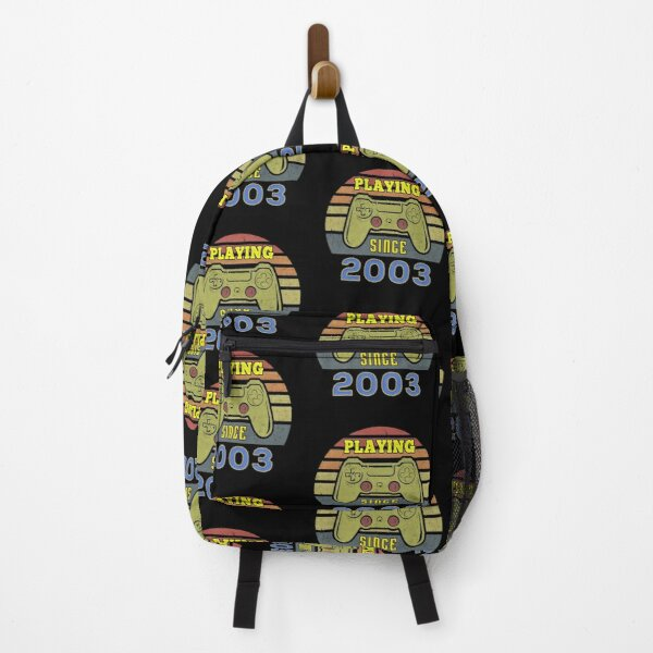 Playing Since 2003 - Vintage Gaming Controller - Born in 2003 Backpack