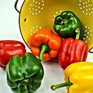 Bell Peppers by Jimmy Ostgard
