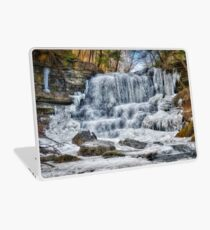 Melting waterfall Laptop Skin