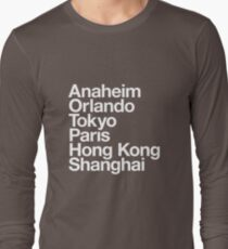 6 Magical Cities Long Sleeve T-Shirt