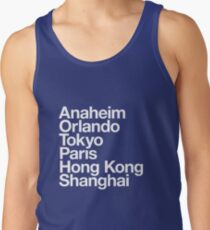 6 Magical Cities Tank Top