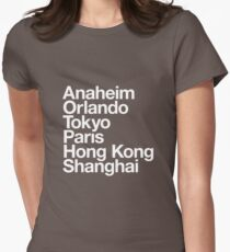 6 Magical Cities T-Shirt