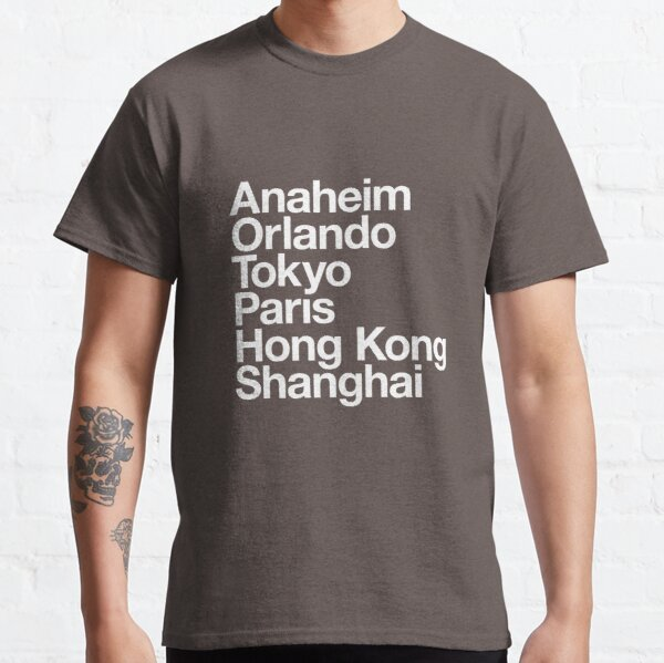 6 Magical Cities Classic T-Shirt