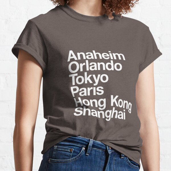 6 Magical Cities Classic T-Shirt