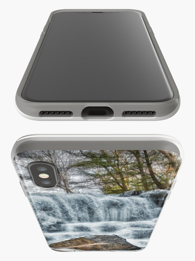 Alternate view of Melting waterfall iPhone Case & Cover
