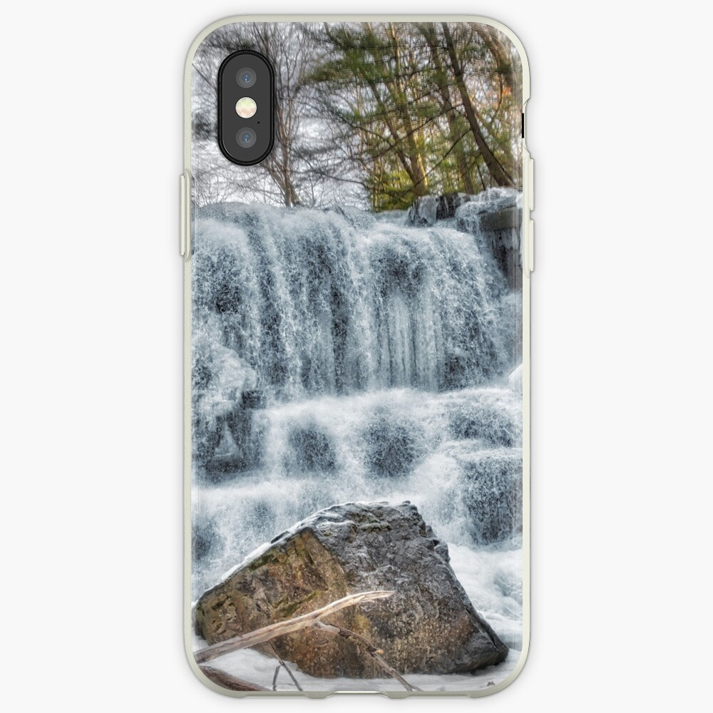 Melting waterfall iPhone Case & Cover