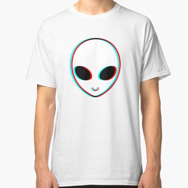 Trippy Alien Classic T-Shirt