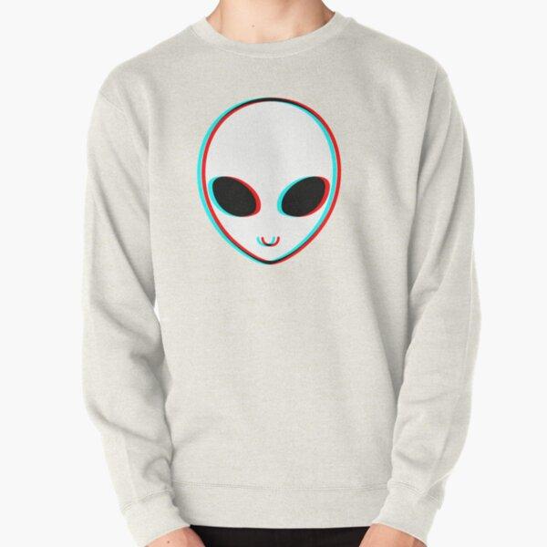 Trippy Alien Pullover Sweatshirt