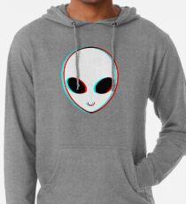 Trippy Alien Leichter Hoodie