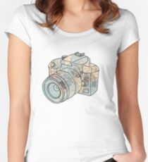 Travel the World Women's Fitted Scoop T-Shirt