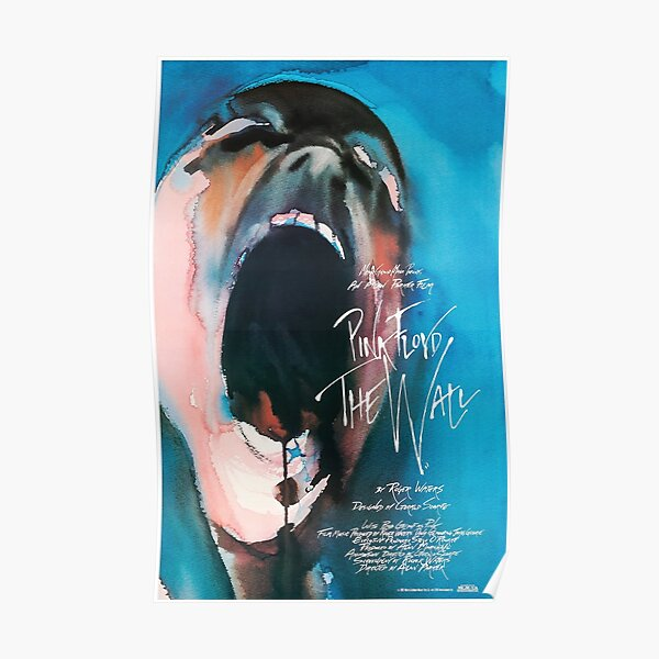 1982 FLOYD ROSE - LE MUR - AFFICHE DE FILM Poster